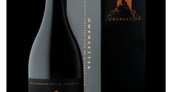 97 points to Omensetter Shiraz from Nick Stock